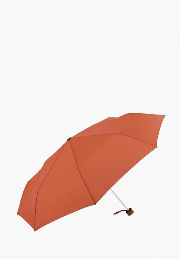 женский складные зонт vogue, оранжевый