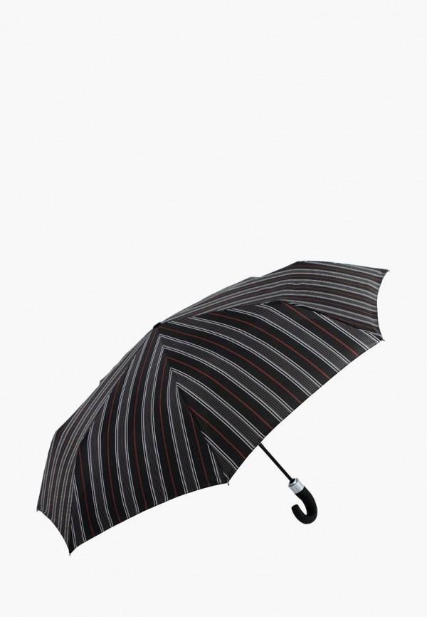 женский складные зонт vogue, черный