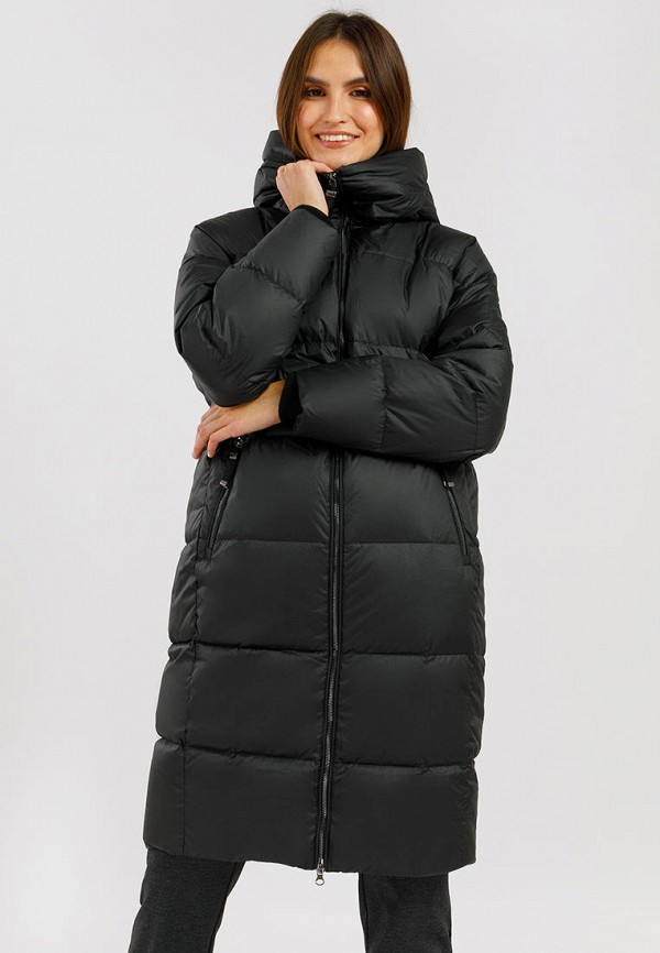 женский пуховик finn flare, черный