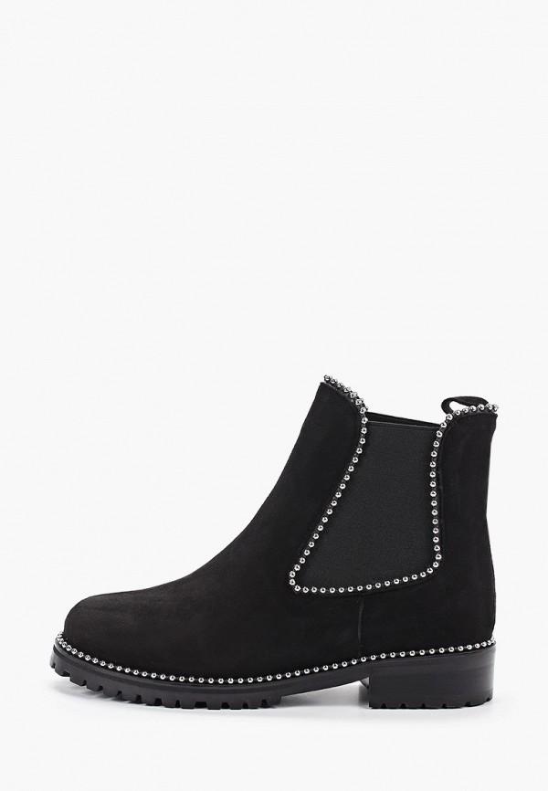 женские ботинки valley, черные