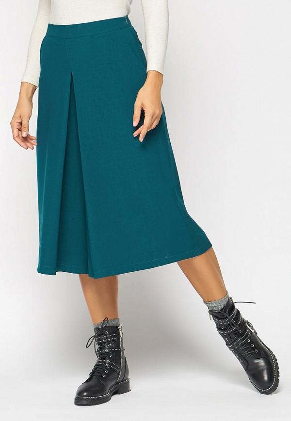 женские брюки кюлоты bellart, бирюзовые