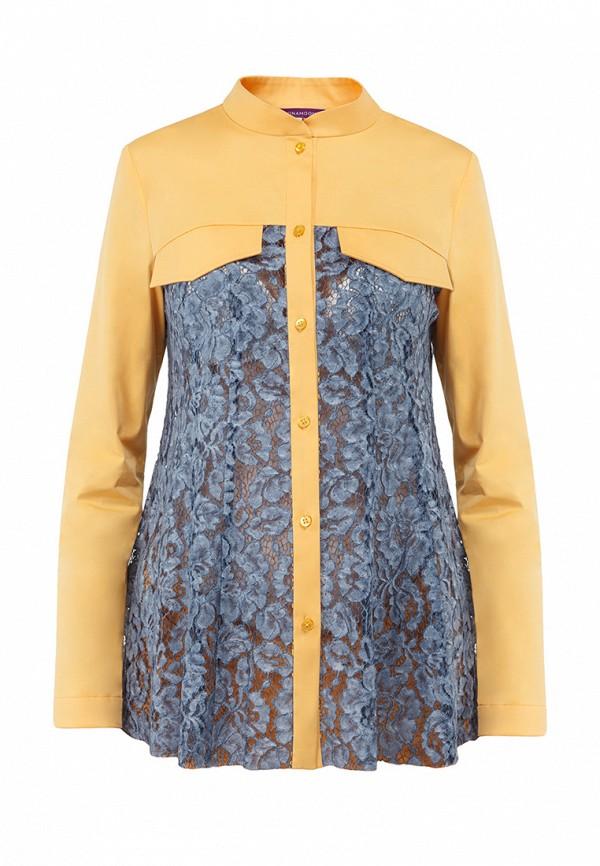 женская рубашка с длинным рукавом monamoon, разноцветная