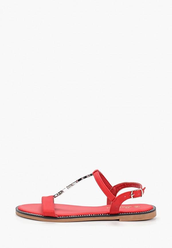 женские сандалии saivvila, красные