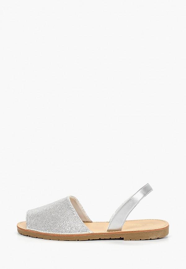 женские сандалии saivvila, серебряные