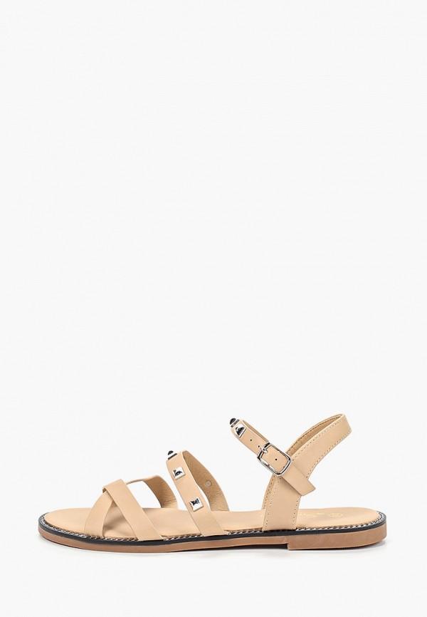 женские сандалии saivvila, коричневые