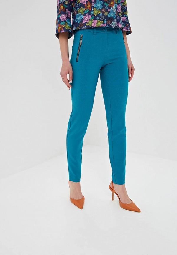 женские зауженные брюки dizzyway, бирюзовые