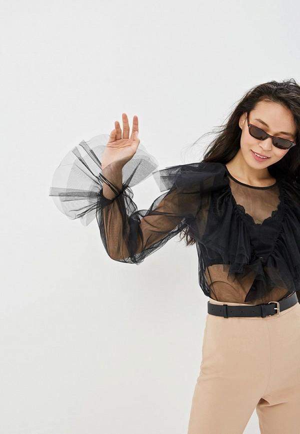 Фото - Блузу Gepur черного цвета