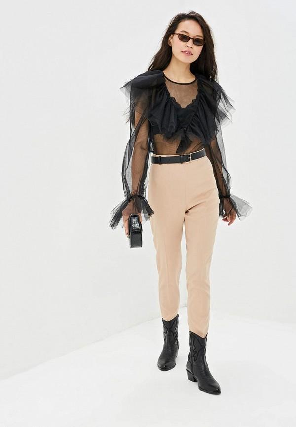 Фото 2 - Блузу Gepur черного цвета