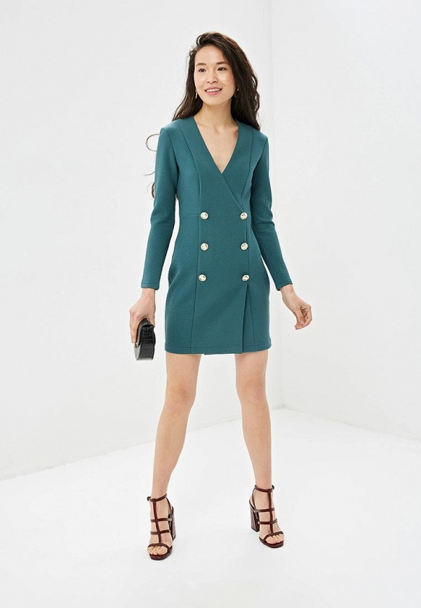 Фото 2 - Платье Gepur зеленого цвета