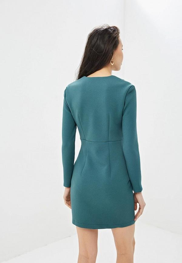 Фото 3 - Платье Gepur зеленого цвета