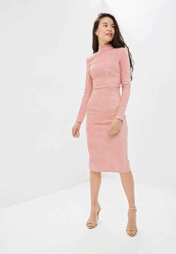 Фото 2 - Платье Gepur розового цвета