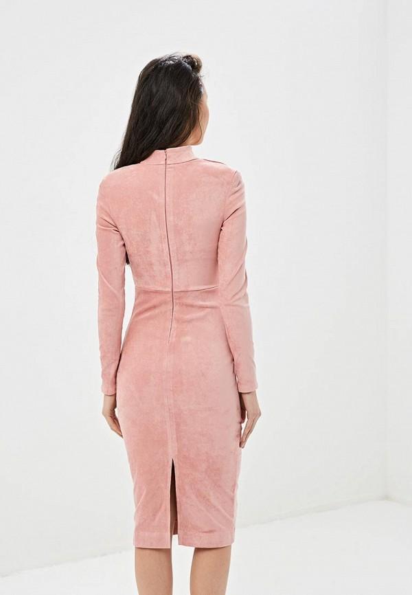 Фото 3 - Платье Gepur розового цвета