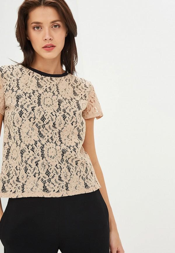 Фото - Блузу Gepur бежевого цвета