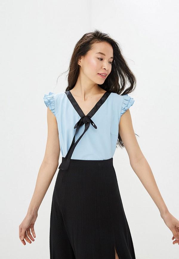 Фото - Блузу Gepur голубого цвета