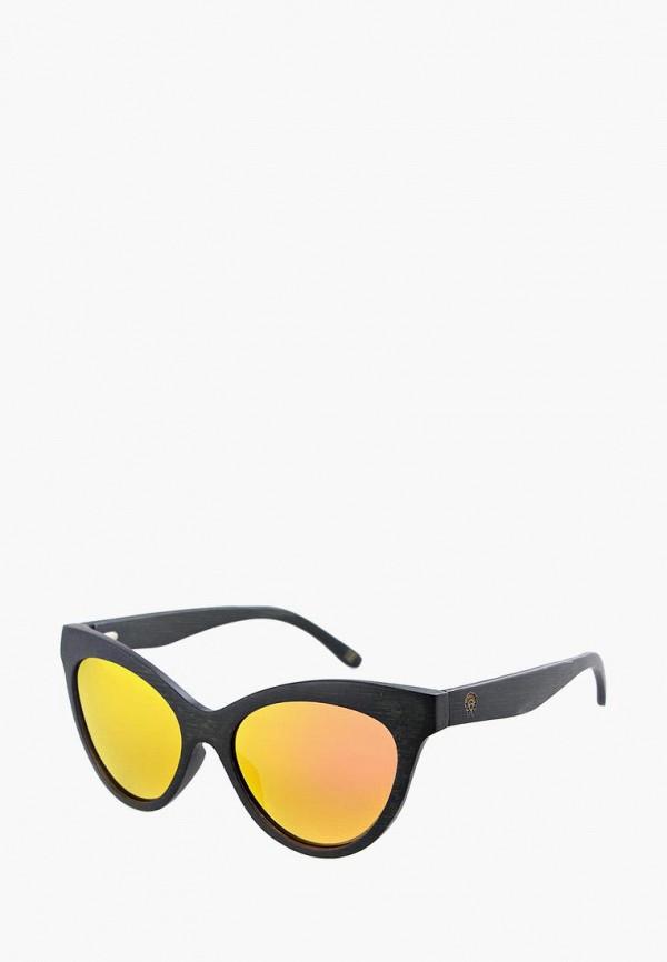 женские солнцезащитные очки кошачьи глаза cloudlet, черные