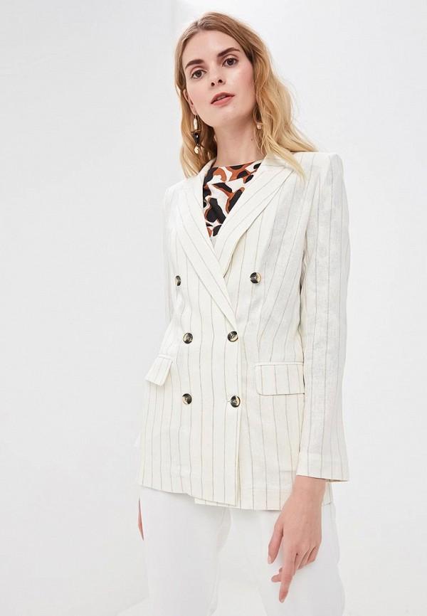 женский пиджак villagi, белый