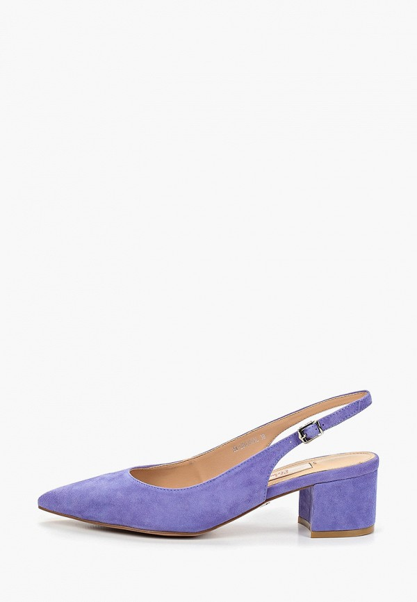 женские туфли elche, голубые