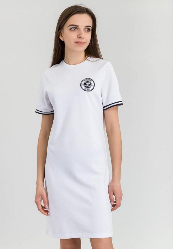 женское спортивные платье hummel, белое