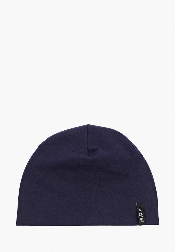 женская шапка freespirit, синяя