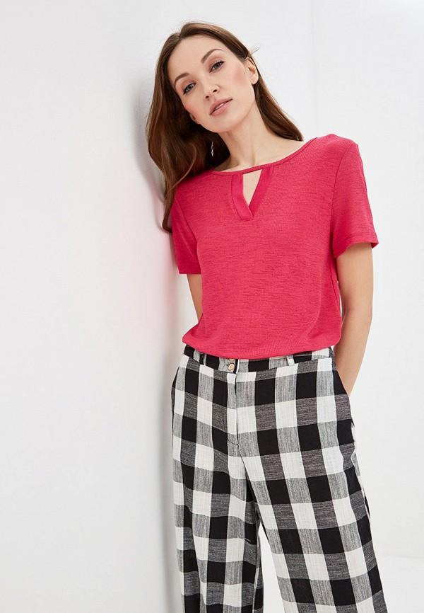 женская футболка lc waikiki, розовая