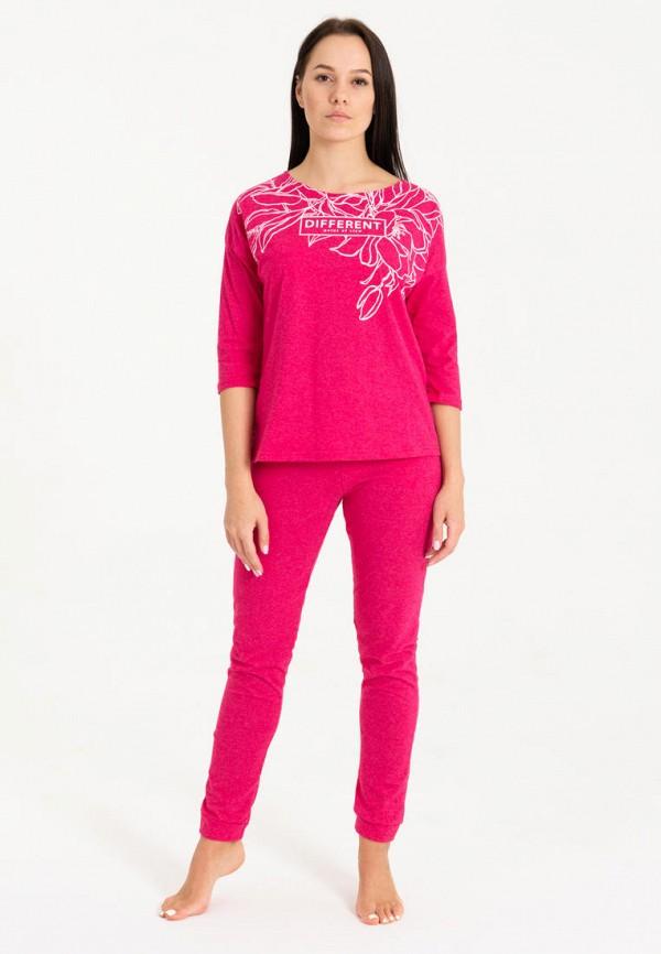 женский костюм tenerezza, розовый