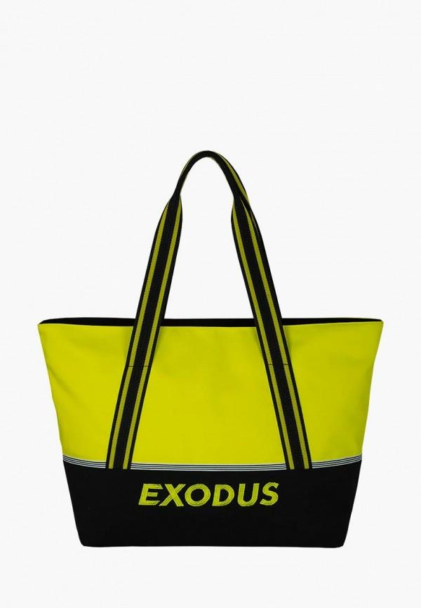 женская сумка exodus, желтая
