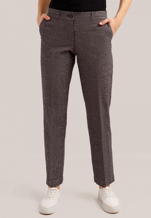 женские повседневные брюки finn flare, серые