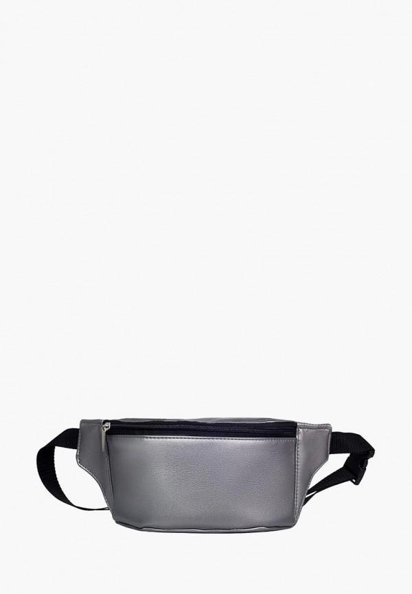 женская сумка sambag, серебряная