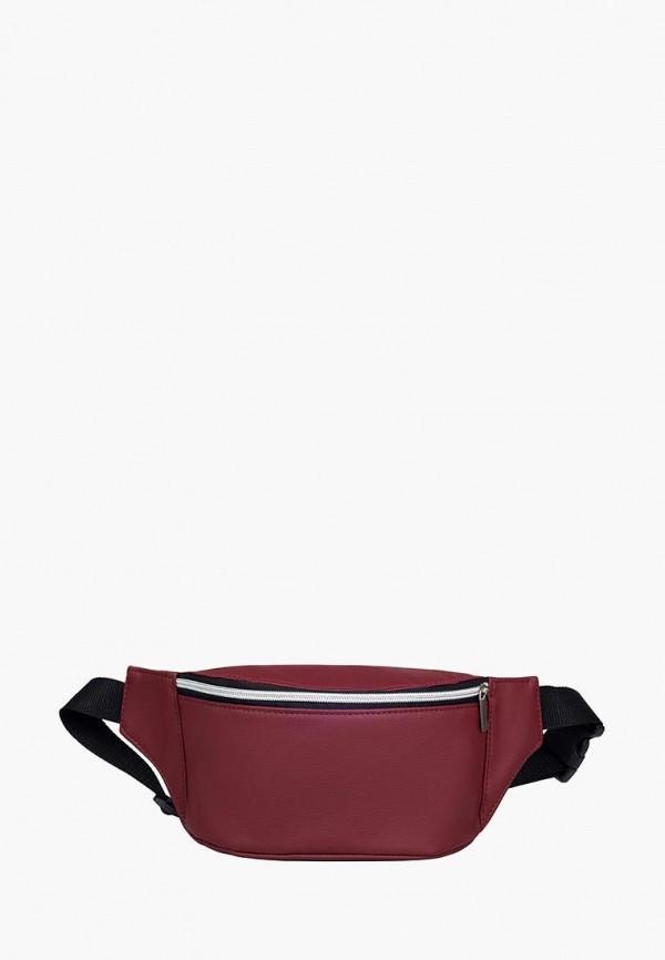 женская сумка sambag, бордовая