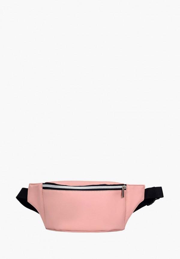 женская сумка sambag, розовая