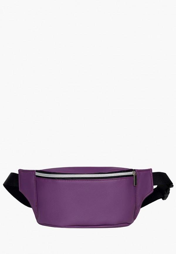 женская сумка sambag, фиолетовая