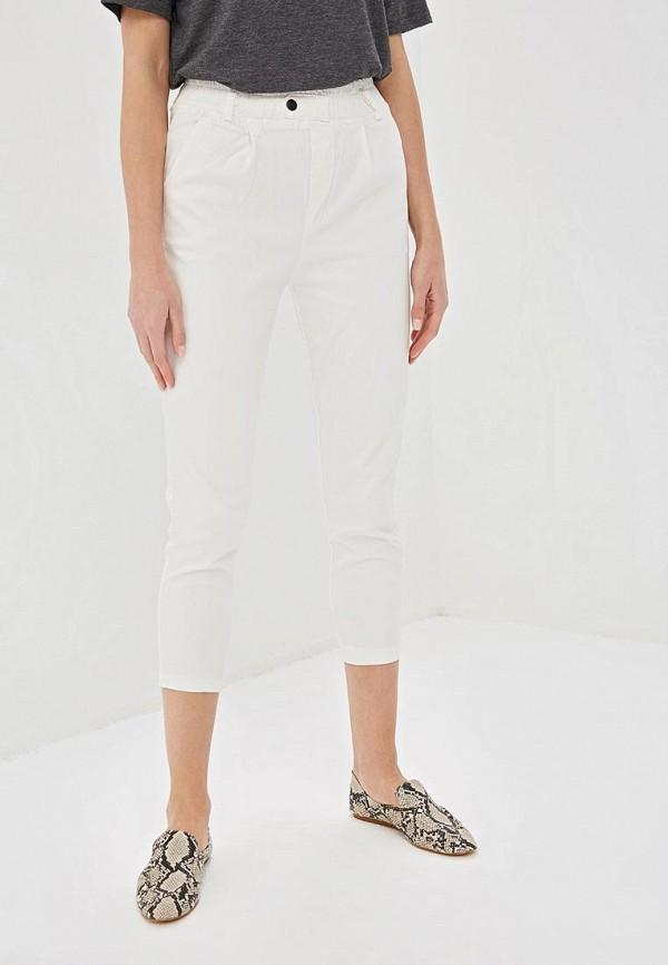 женские повседневные брюки elardis, белые