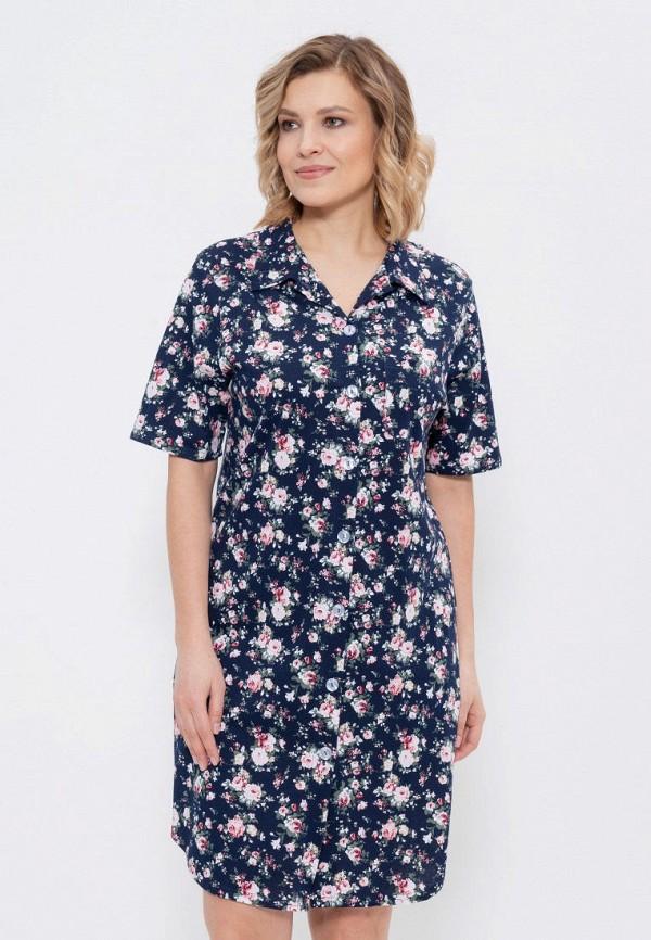 Платье домашнее Cleo Cleo MP002XW020R1 verdissima домашнее платье с розами
