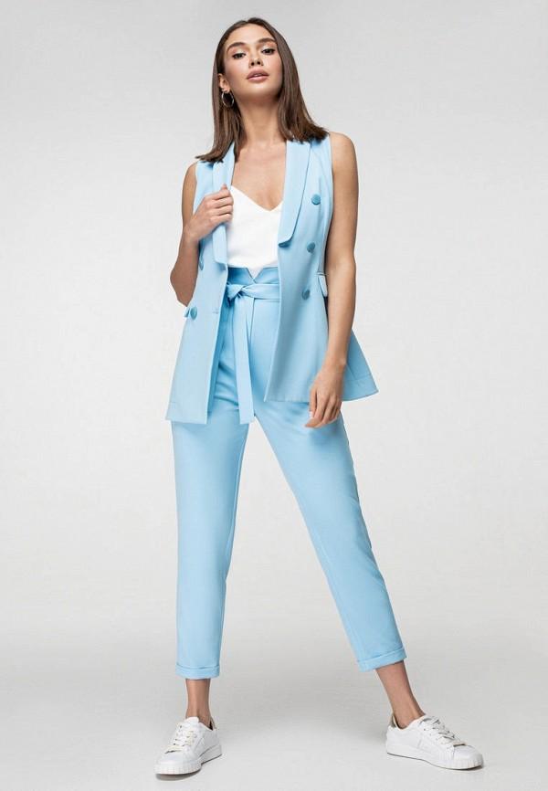 женский костюм itelle, голубой