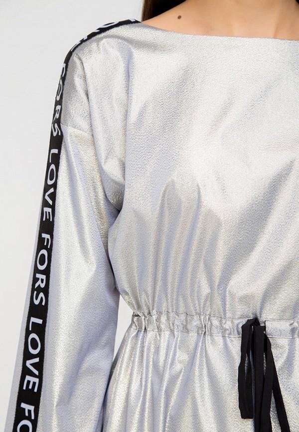 Платье Fors цвет серый  Фото 5
