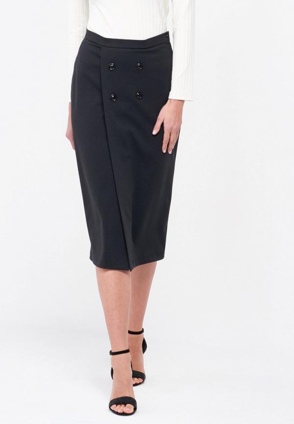 женская прямые юбка alina assi, черная