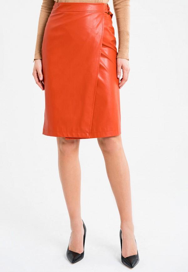 женская юбка self made, оранжевая