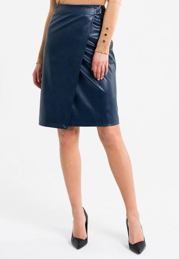 женская юбка self made, синяя