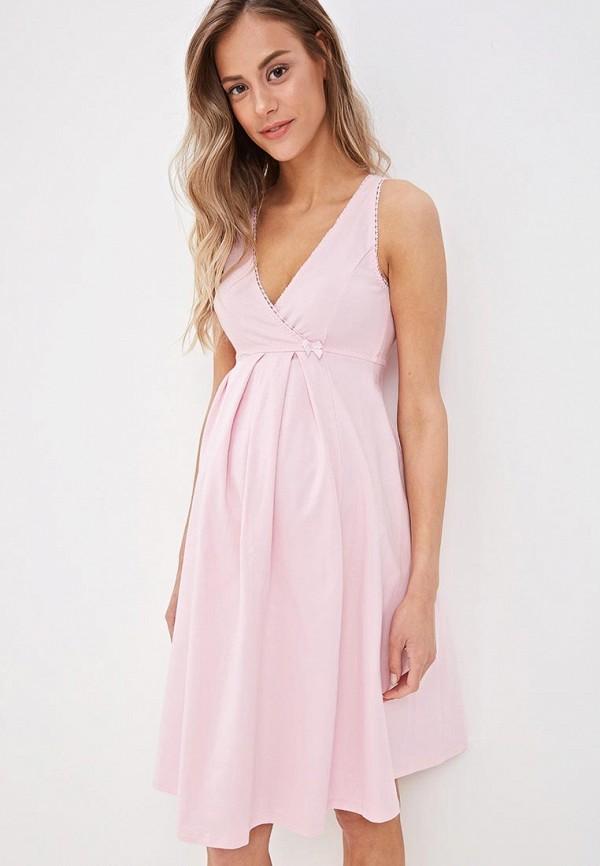 Сорочка ночная Hunny mammy Hunny mammy MP002XW020XR комплект для беременных и кормящих hunny mammy халат сорочка ночная цвет розовый серый 1 нмк 07720 размер 46