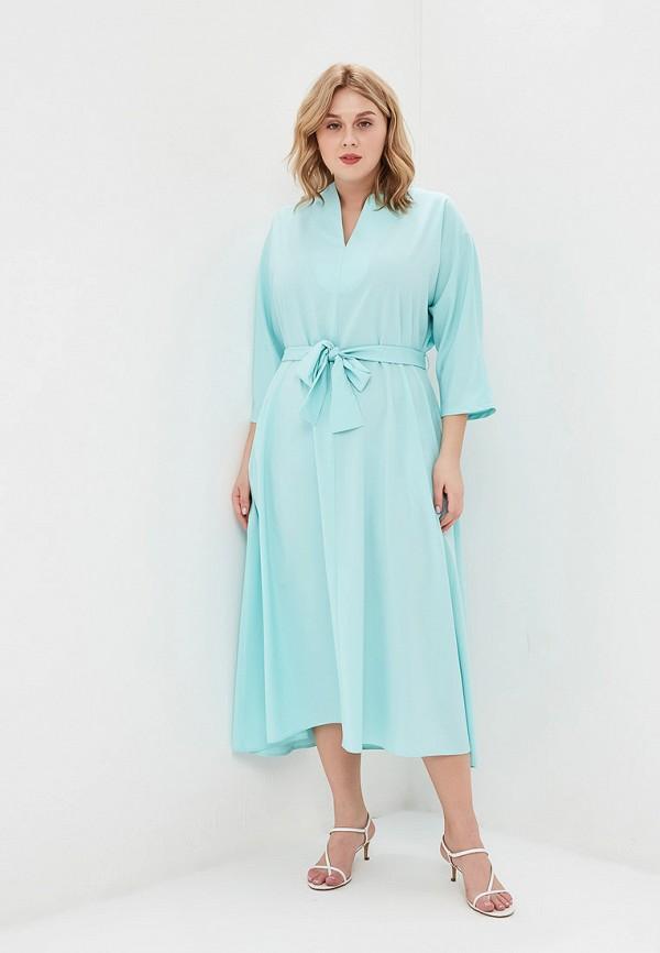 Купить Женское платье Svesta бирюзового цвета