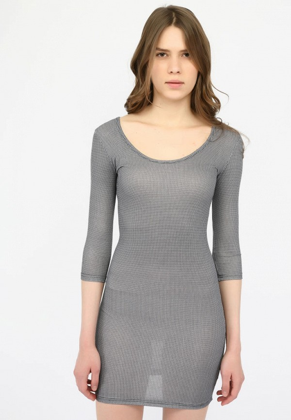 женское повседневные платье alcott, серое