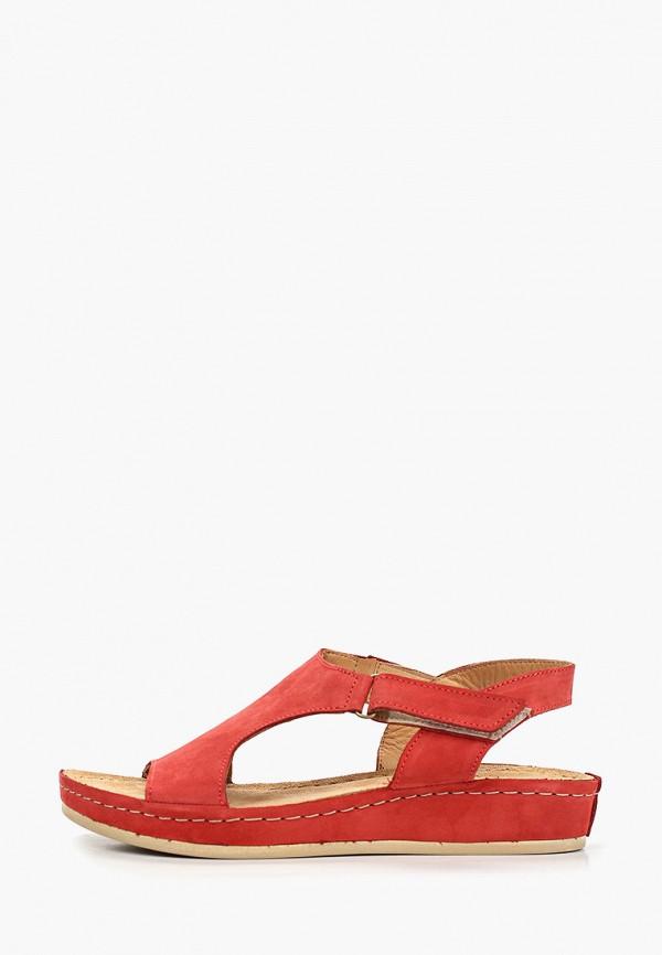 женские сандалии sekada, красные