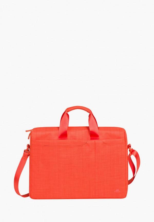 женская сумка rivacase, оранжевая