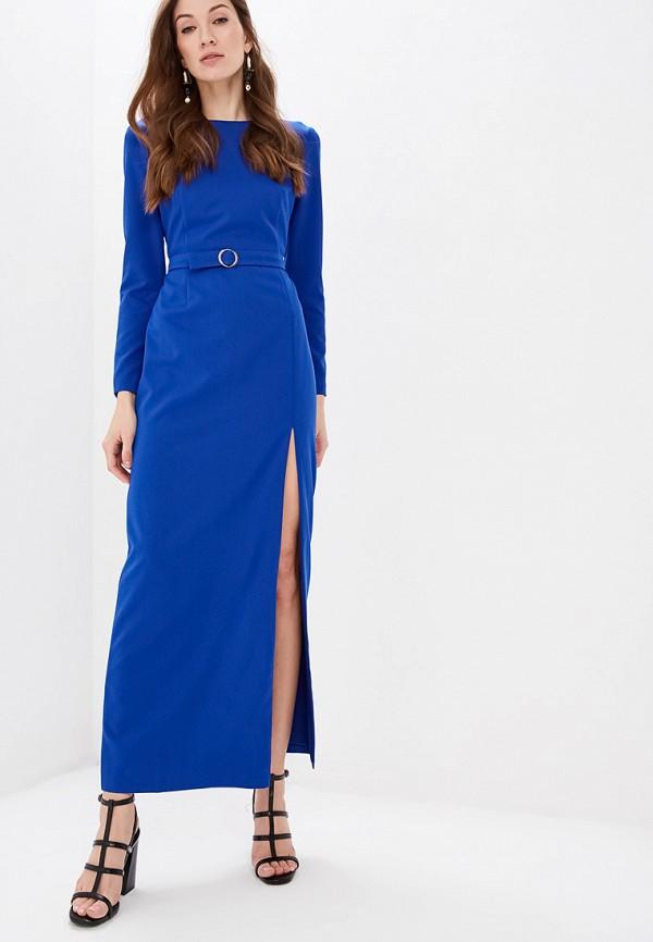 женское вечерние платье self made, синее