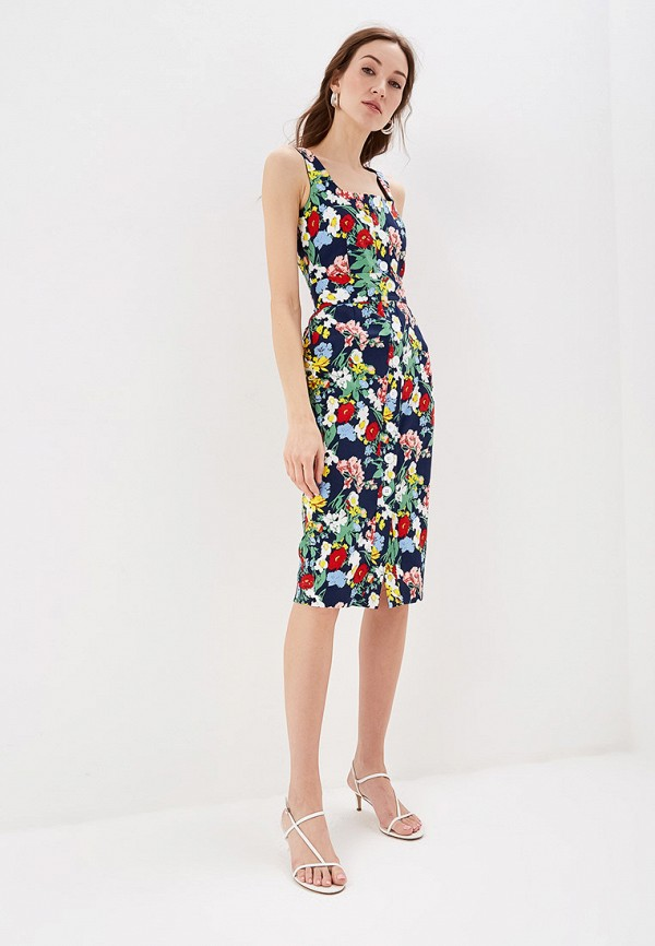 женское повседневные платье self made, разноцветное