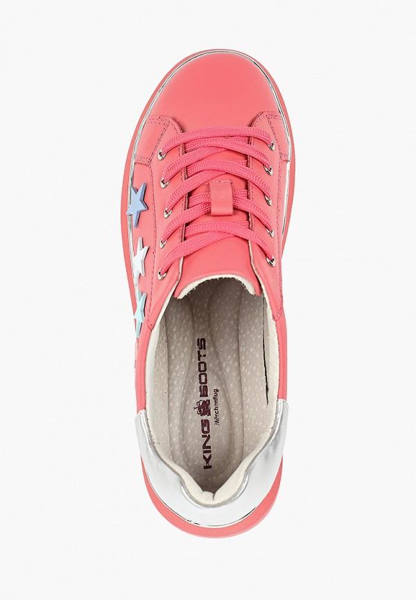 Кеды King Boots цвет коралловый  Фото 4