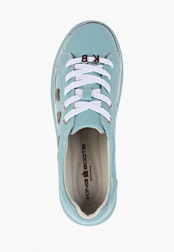 Кеды King Boots цвет голубой  Фото 4
