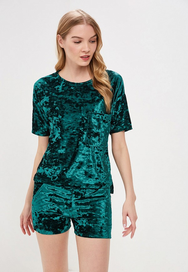 женский костюм tenerezza, зеленый
