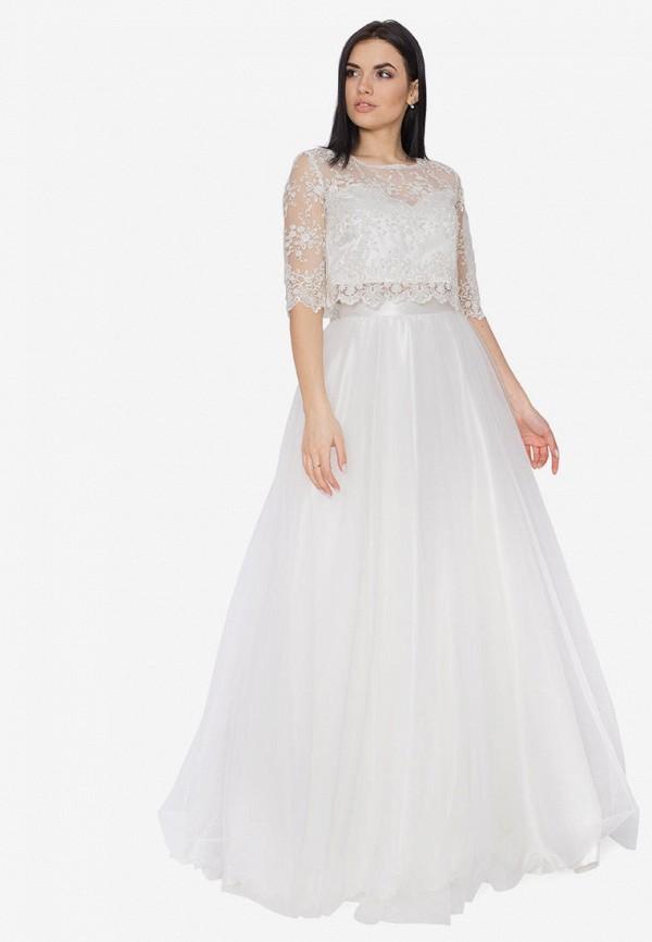 Платье Seam цвет белый