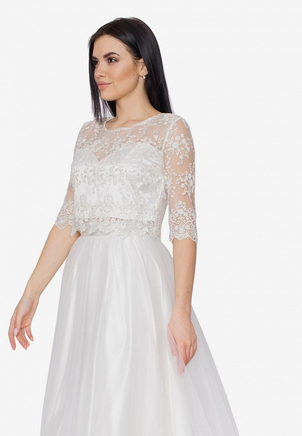 Платье Seam цвет белый  Фото 2